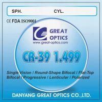CR-39  lenses