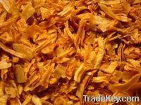 rice, fried onion, garlic paste, ginger