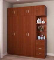 New Wooden MFC Melamine Bedroom Wardrobe