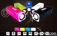 Music Ange Audio Box FM MP3 Player Udisk Micro SD Slot Digital Speaker