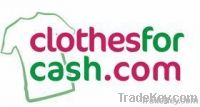 Unsorted second hand clothes, shoes, accessories