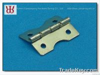 Manufacturer supplied brass furniture hinges