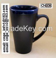 custom logo wholsale ceramic mug coffe mug chalk mug note news mug