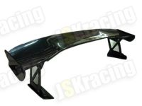 JS-STYLE CARBON FIBER REAR SPOILER for 08-up HONDA FD2