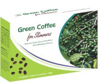 Green coffee for slimmers, natural slimming coffee