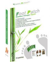 Detox foot patch, Bamboo vinegar liquid foot patch