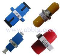 Fixed Adapter Type Fiber Optic Attenuator