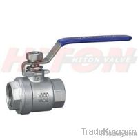 Stainless Steel Threaded Ball Valve, 1PC/2PC/3PC/3-Way Ball Valve