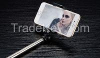 wireless mobile phone selfie stick wired selfie stick