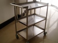 Stainless Steel Service Trolleys and Carts