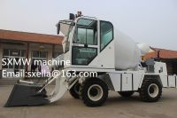 Diesel Engine Drum Mobile Concrete Mixer for self loading mobile concrete mixer