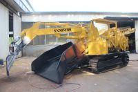 CRAWLER SXMW 80 electricity or diesel engine haggloader tunnel mucking loader