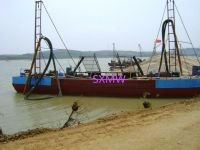 SXMW sand suction dredger with pumping sand
