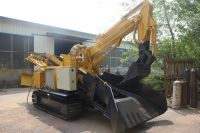 SXMW machine excavating tunnel mucking machine crawler mining loader for sale