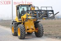 CHINA SXMW MACHINE compact front loader with auto pallet fork