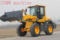 CHINA SXMW MACHINE compact shovel loader with concrete mixer bucket