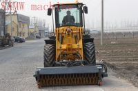 CHINA SXMW MACHINE compact mini loader with sweeper