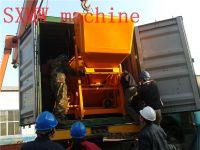 SXMW machine diesel engine SXMW350 concrete mixer
