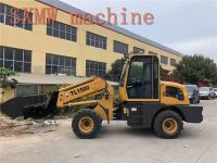 SXMW machine high dumping loader 4.5m SXMW1500 telescopic boom loader for sale