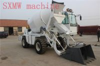 SXMW machine concrete batching truck with self loading fuction