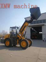 SXMW machine high dumping loader 4.5m SXMW2000 telescopic boom loader for sale