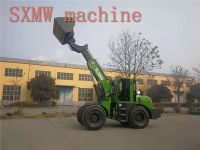 SXMW machine high dumping loader 4.5m SXMW3000 telescopic boom loader for sale