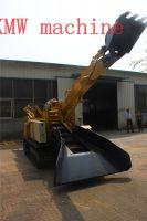 SXMW machine lead mine hole mining operations using crawler mucking loader