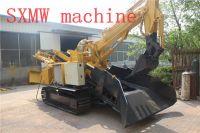 SXMW machine Crawler-mounted tunnel loader cinder machine for mining
