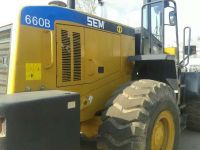 hot sale low price china SEM660B used loaders for 6 ton second loader