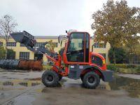hot sale diesel powered loading articulated loader SXMW10 for loading 1000kg