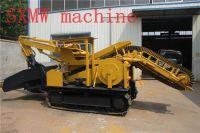SXMW machine factory price crawler backhoe tunnel mucking loader 80CBM per hour