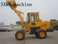 hot sale diesel powered loading articulated loader SXMW10 for loading 1000kg