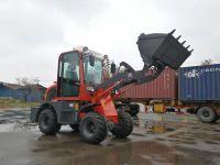 hot sale loading shovel loader articulated loader SXMW10 for loading 1000kg