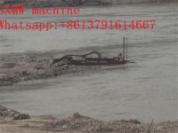 SXMW machine mini dredger with pumping sand