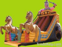 Horse cart Slide