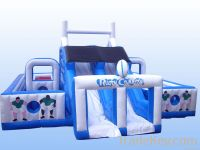 Inflatable Rugby slide