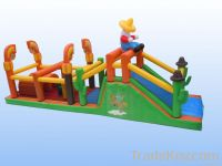 Inflatable obstacle tunnel