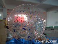transparent zorb ball