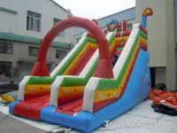 Long slide with arch