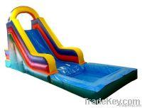new pool slide