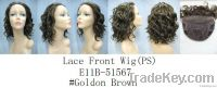 Lace Wig -  Lace Front Full Wig (With S Curl and medium length)