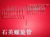 Clear quartz coil