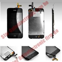 New iPhone 3GS Full Middle Framed Digitizer LCD Display Assembly