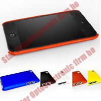 Hard Matte Rubberized Back Cover Case for iPod Touch 4G 4 the 4th