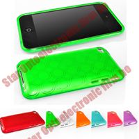 New TPU Soft Plastic Case for iPod Touch 4G 4 the 4the Gen