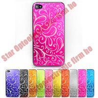 New Pattern Back Cover Door Housing Assembly for iPhone 4G 4th
