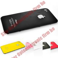 New Glass Back Cover Door Housing Assembly for iPhone 4G 4th