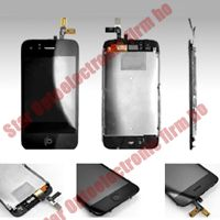 iPhone 3G Full Middle Framed Digitizer LCD Display Assembly
