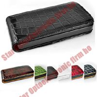 Shiny Leather Case Cover Pouch for iPhone 4G 4 4th Gen