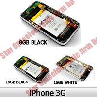 Complete Back Housing Full Assembly with Battery for iPhone 3G 8G